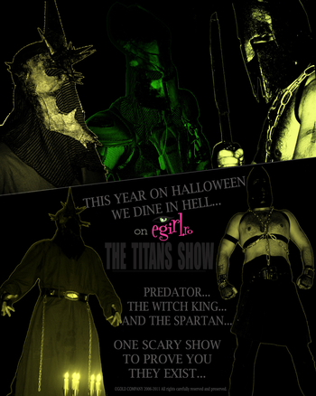 The Titans Show - This year on Halloween we dine in hell!