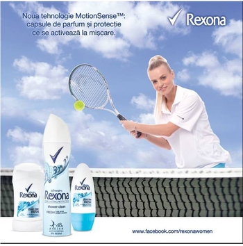 Rexona sustine turneul international feminin  BCR Open Romania