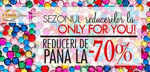 Maratonul reducerilor la Only for You!